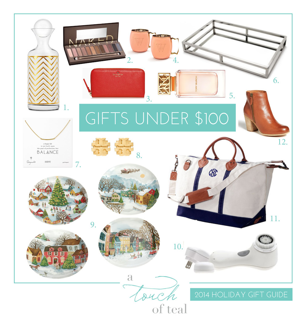 2014 Gift Guide: Gifts Under $100