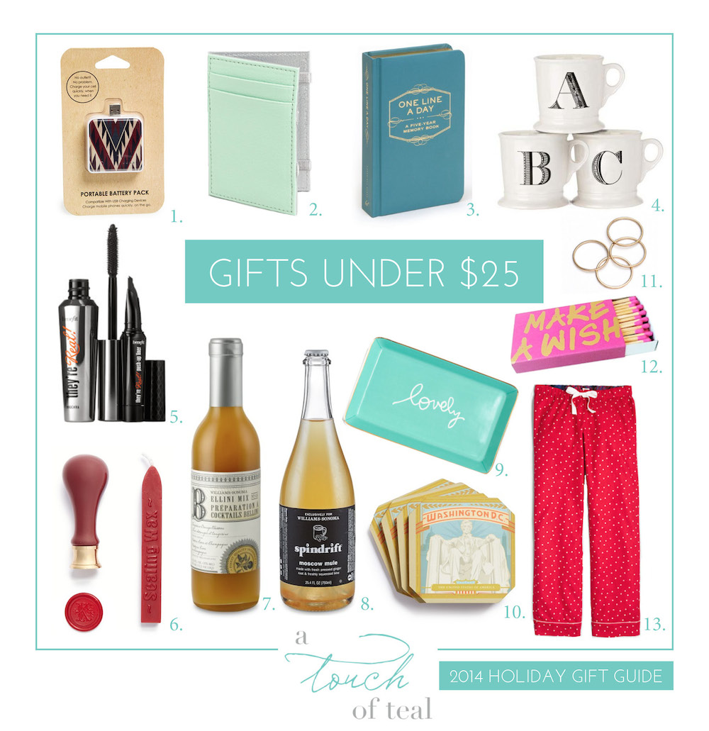 holiday gift guides gifts under 25 - Christmas Gifts Under 25