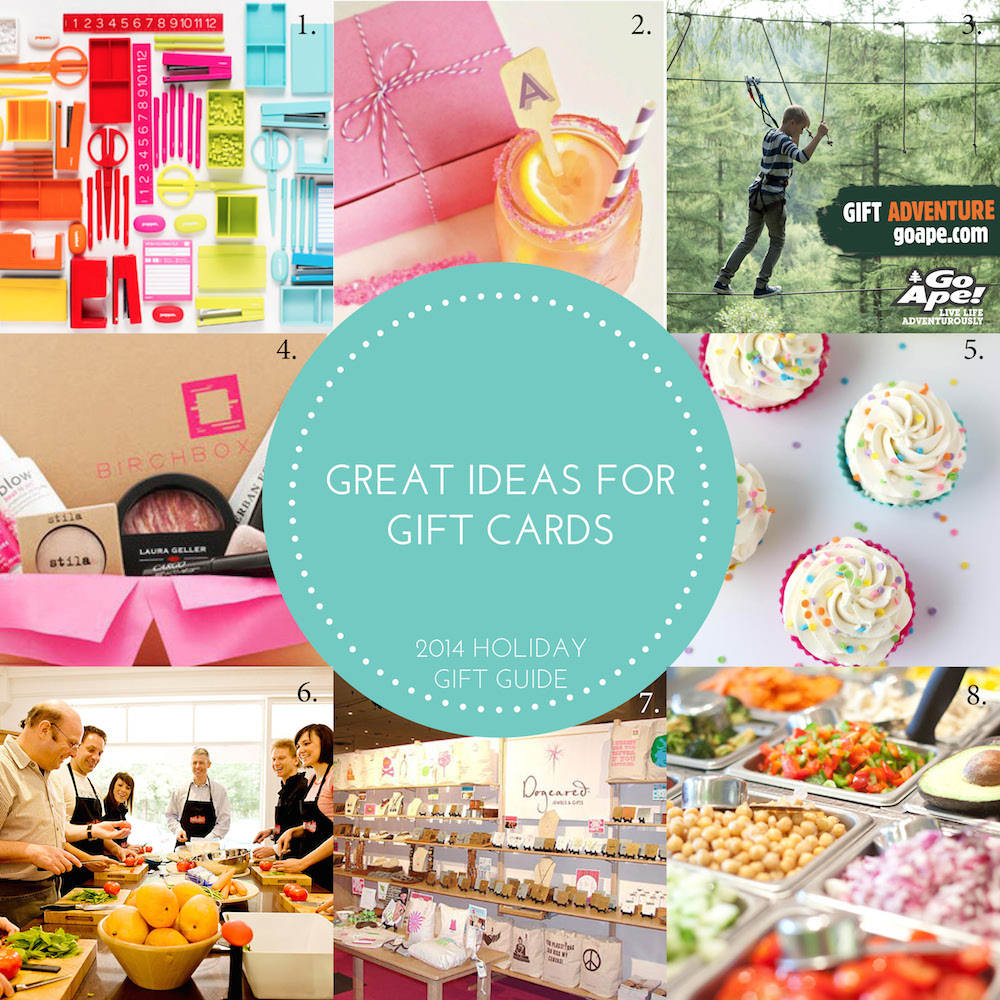 great gift card ideas