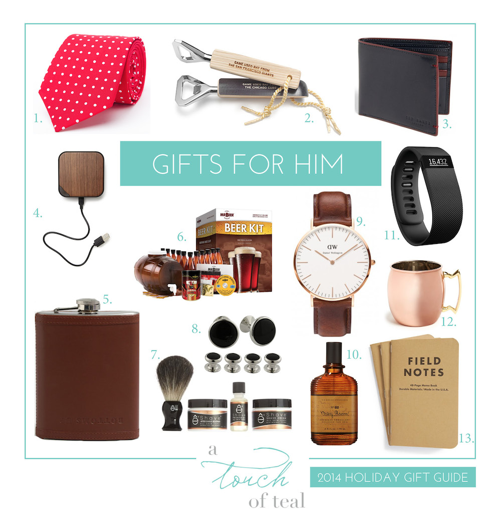 2014 Gift Guide: Gifts For Him