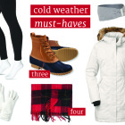 cold weather must-haves