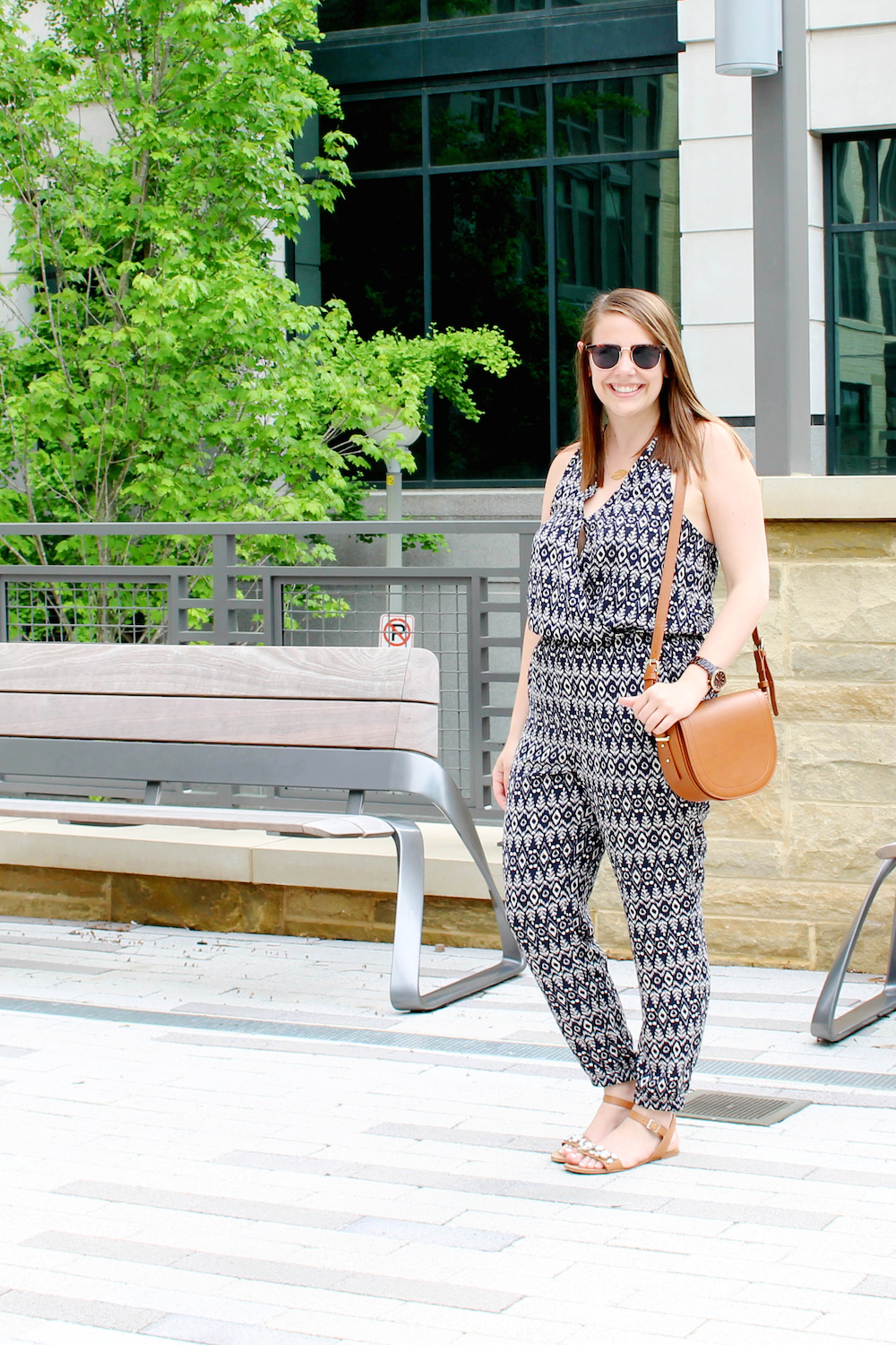 how to wear a jumpsuit in summer