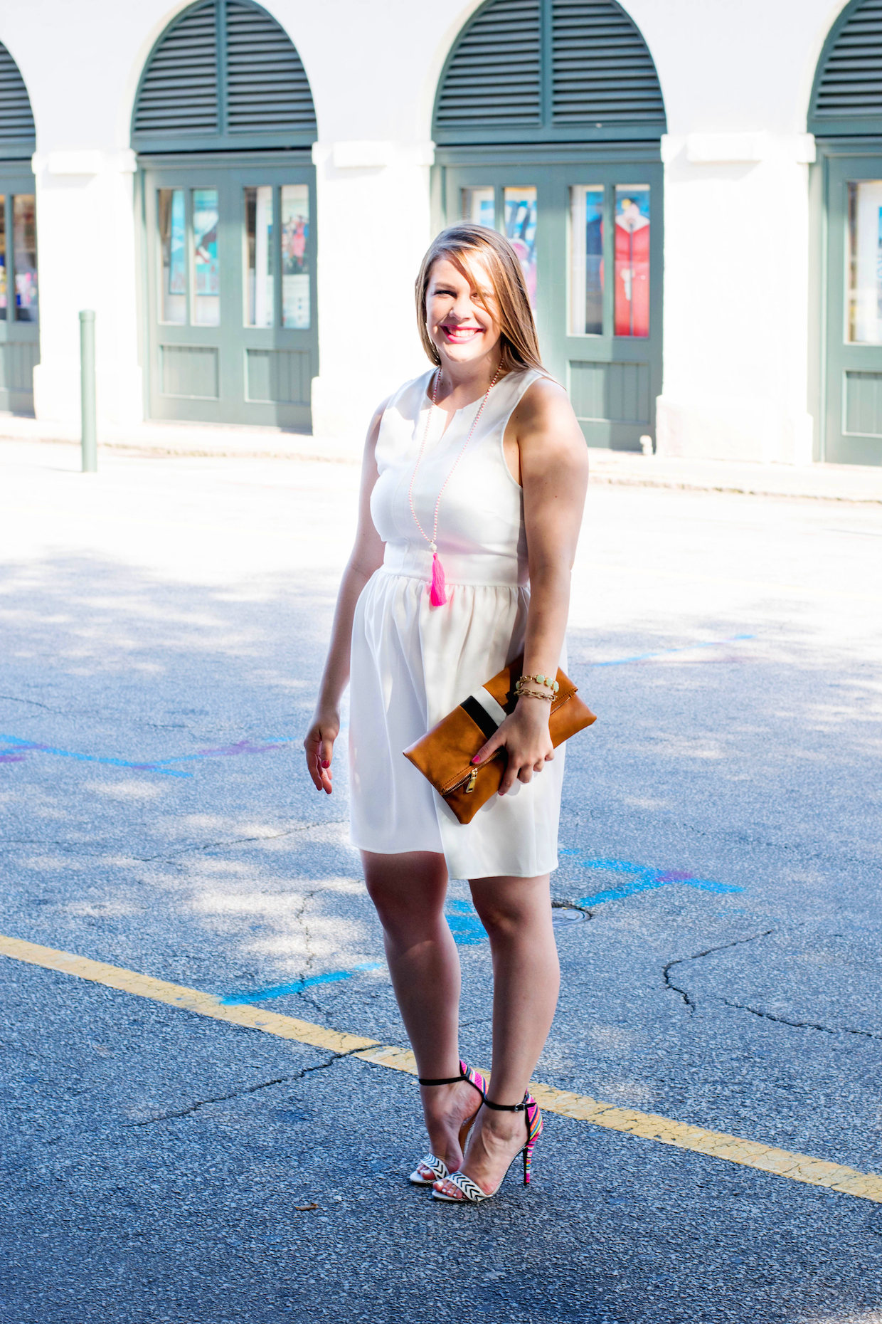 go-to summer white dress