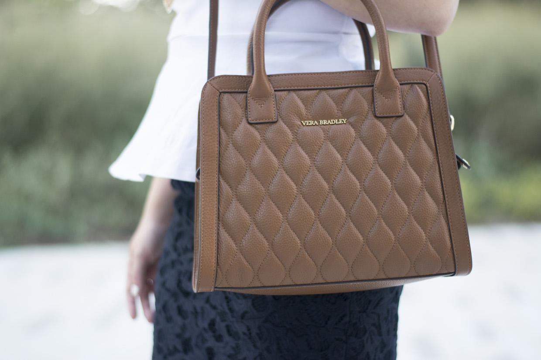 a touch of teal vera bradley natalie satchel