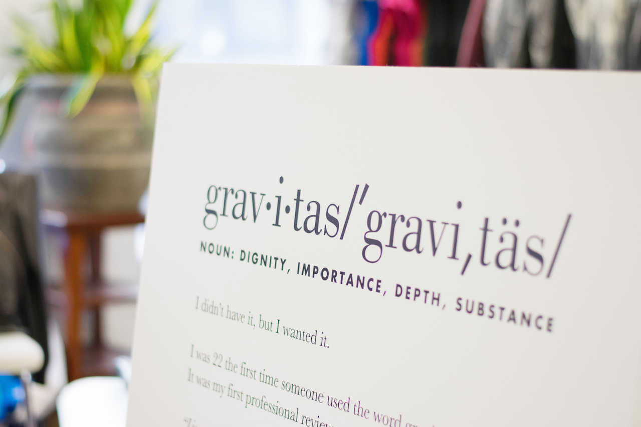 a touch of teal a day at project gravitas