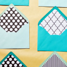 a touch of teal diy envelope liners
