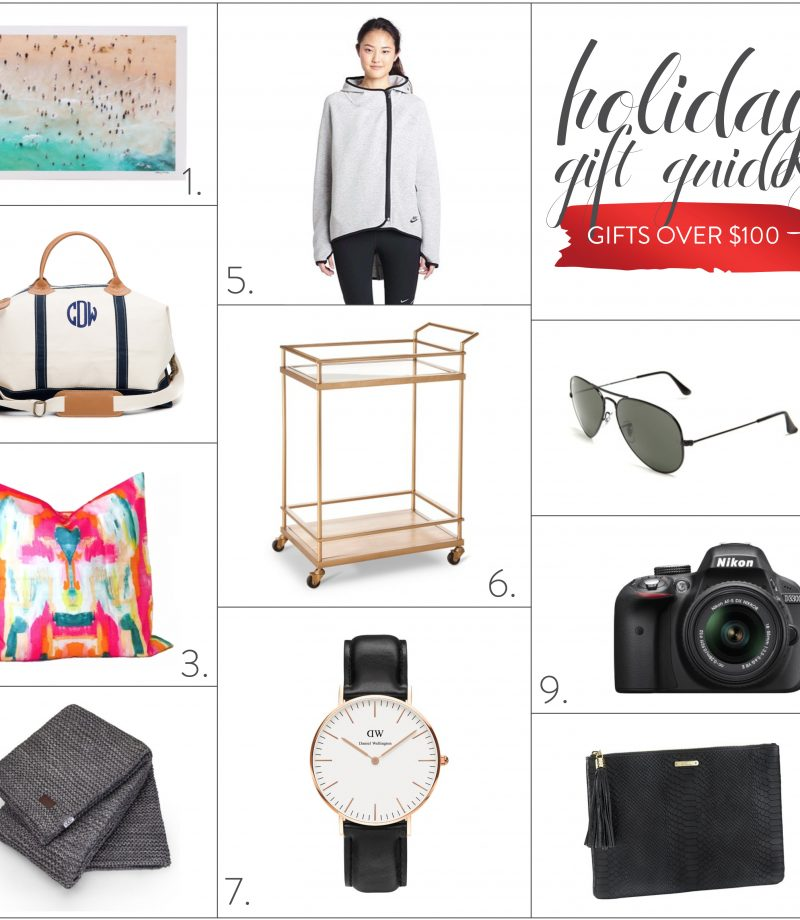 2015 gift guide: gifts over $100