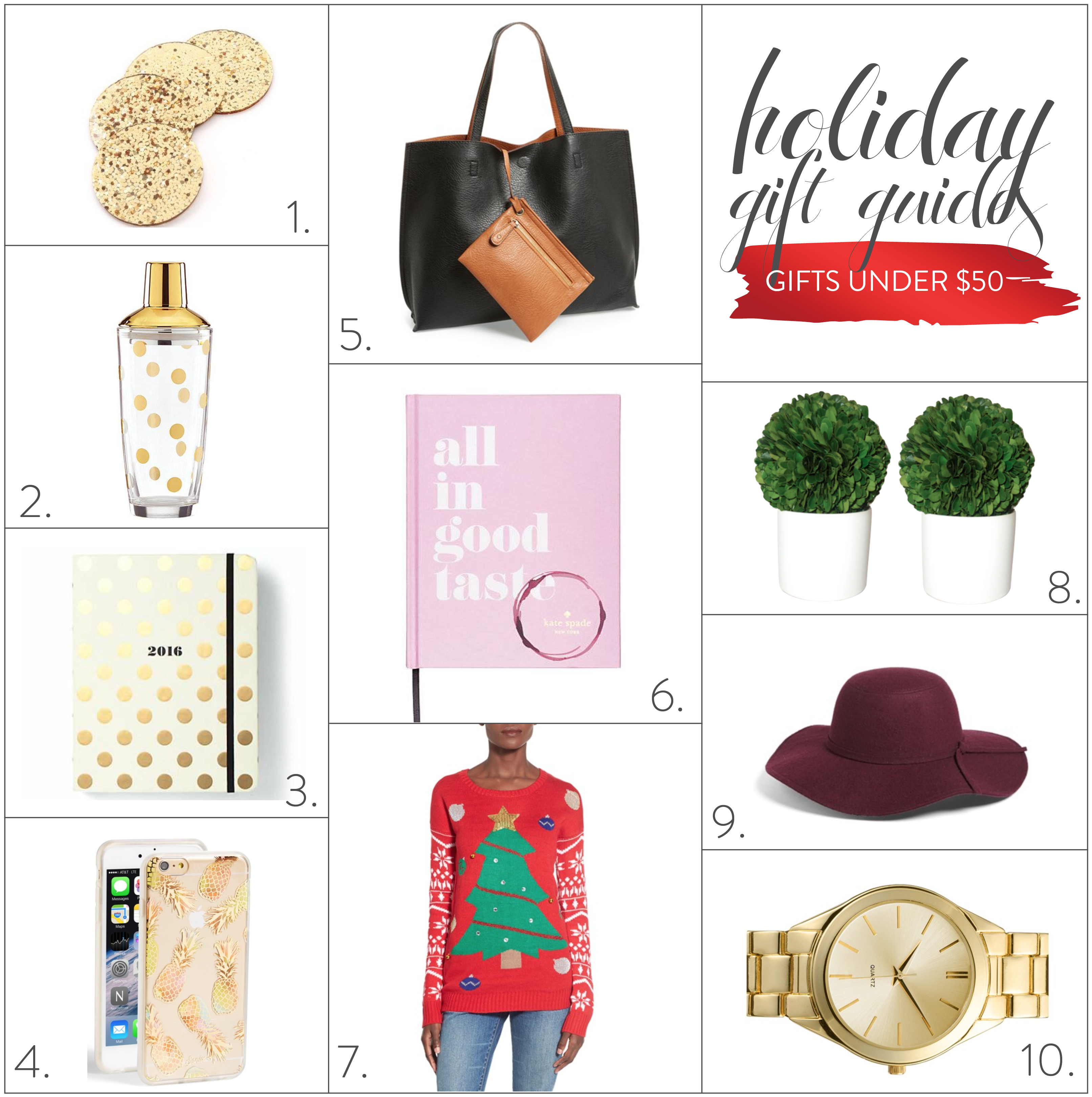 2015 gift guides gifts under 50