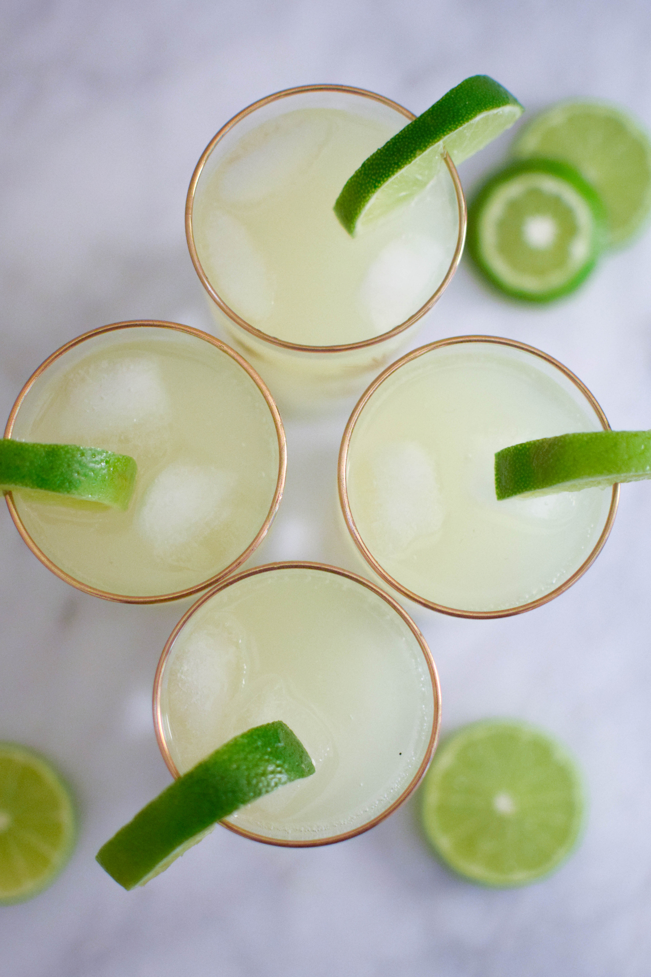 winter margaritas