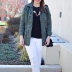 how to wear an army jacket for spring