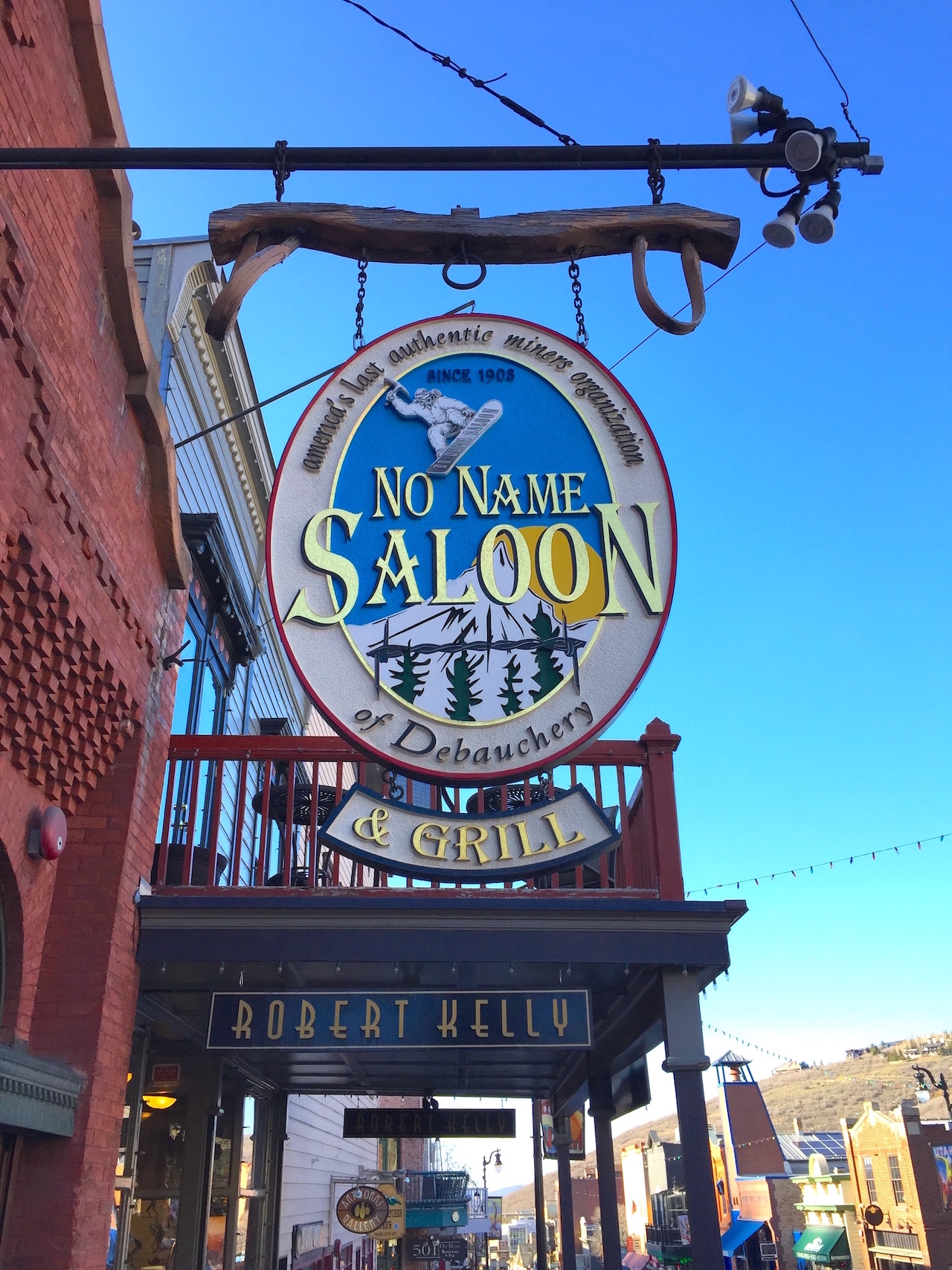5 days in park city utah a touch of teal - No name saloon and grill park city ut ...