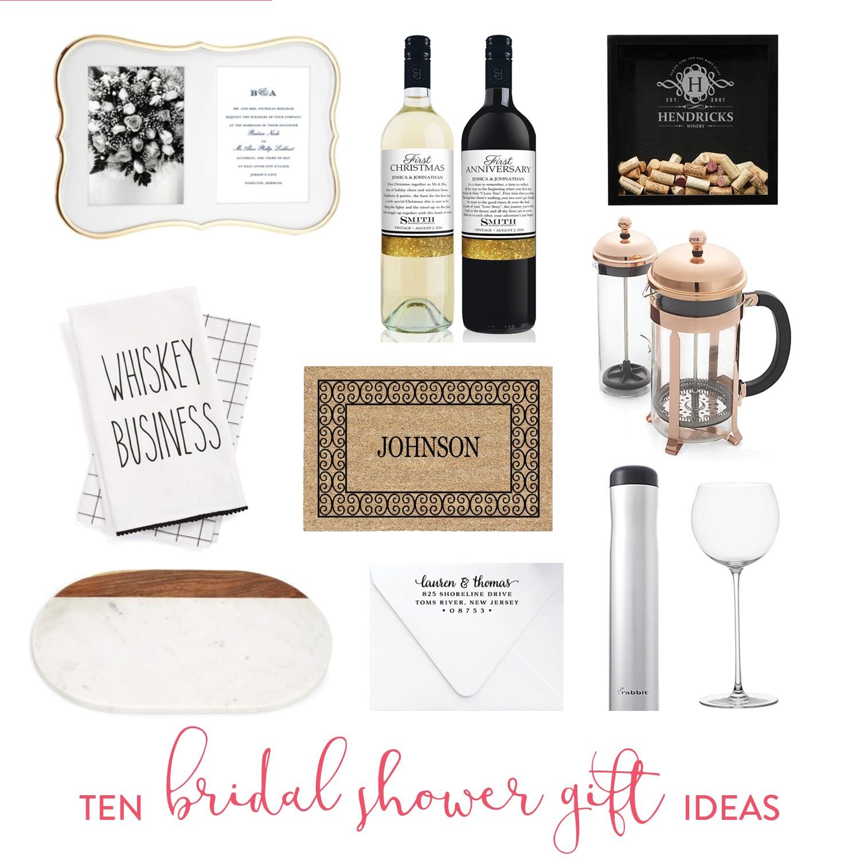 10 unique bridal shower ideas
