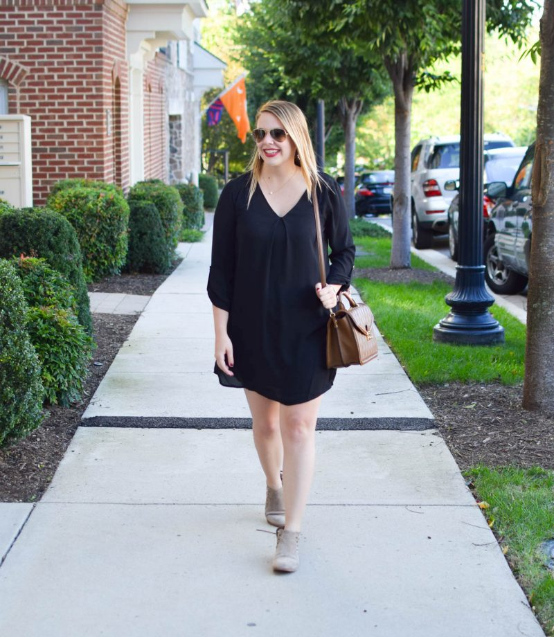 little black dress for fall