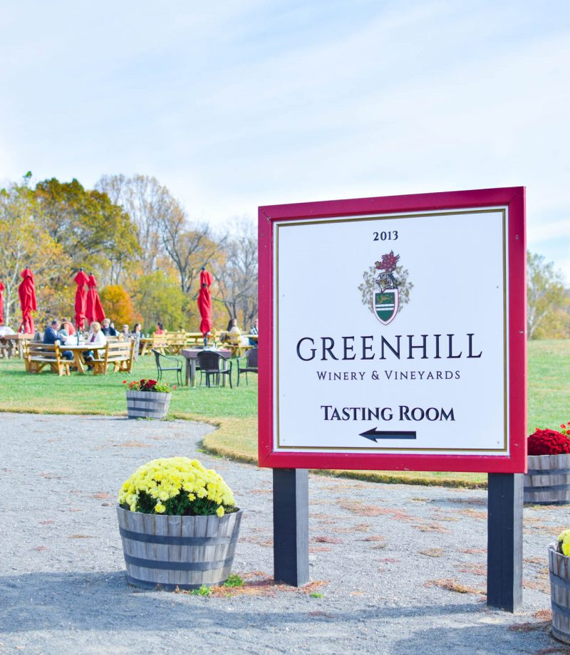 green hill winery and vineyards review