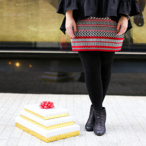 The Holiday Skirt You Need In Your Closet