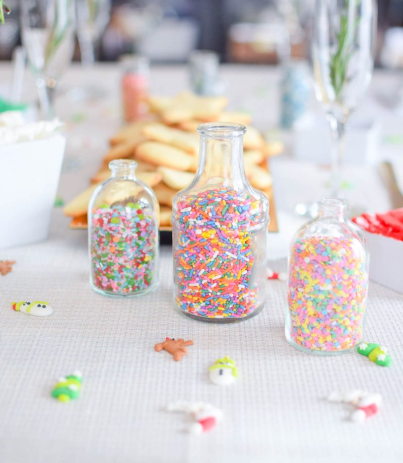 blogger cookie decorating party