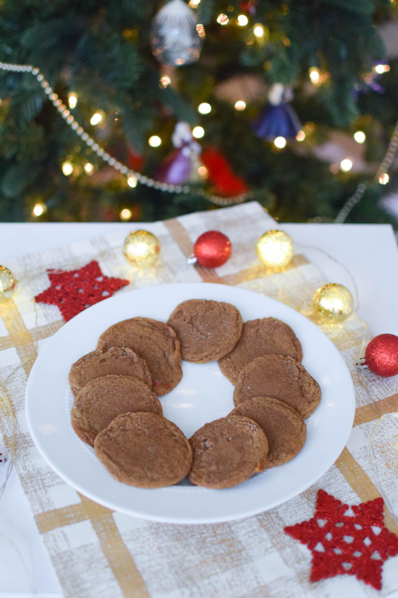 easy ginger christmas cookies