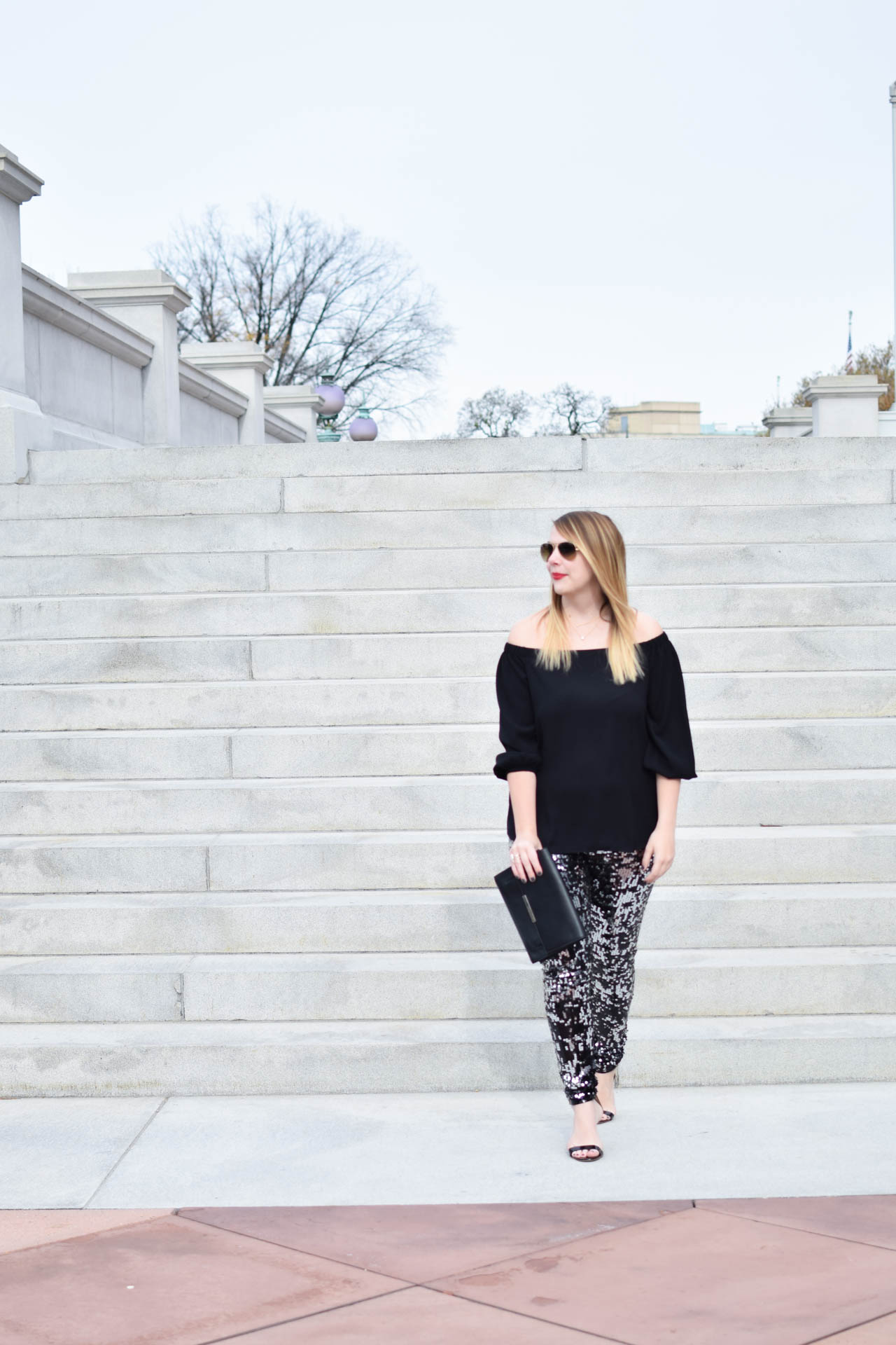 express sequin leggings for new years eve