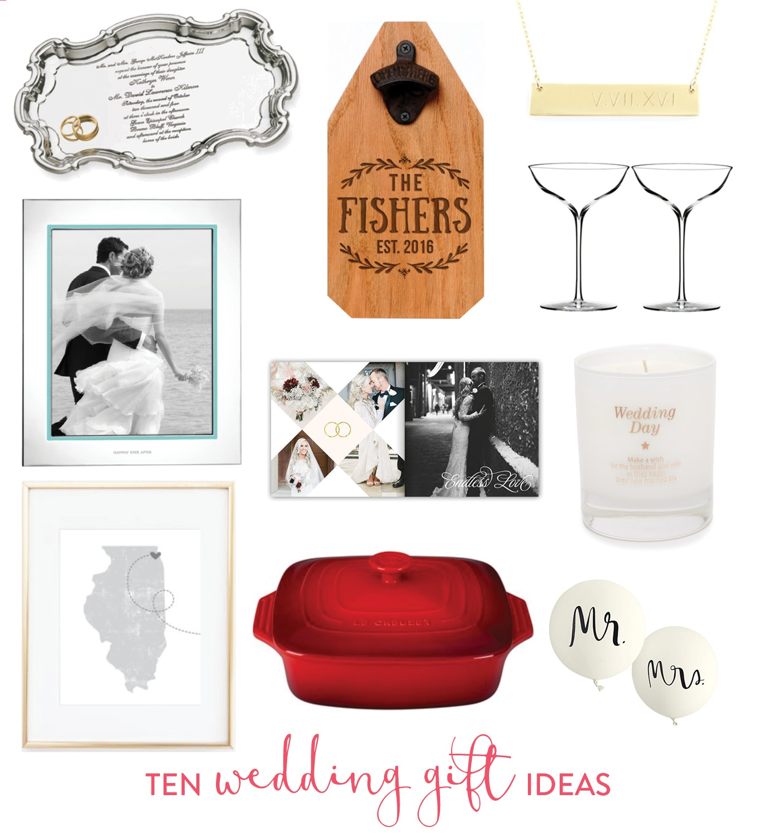 Cool Wedding Gift Ideas: 10 Wedding Gift Ideas