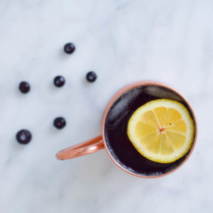 Blueberry Cranberry Moscow Mule