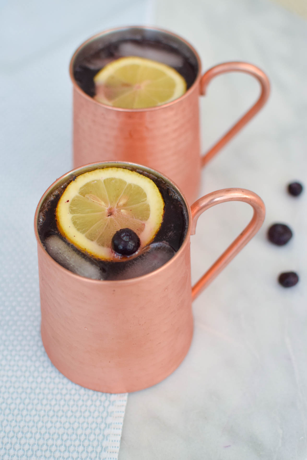 blueberry cranberry moscow mule recipe