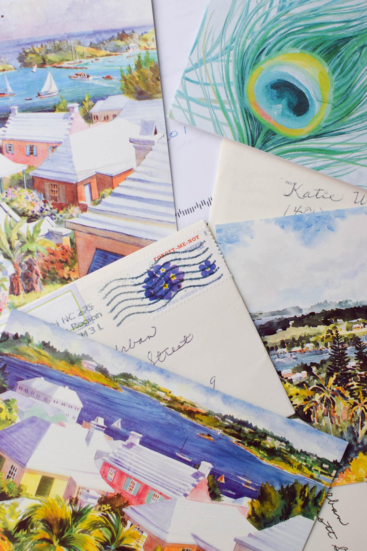do you send handwritten letters