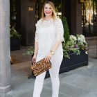 how to wear all white for summer