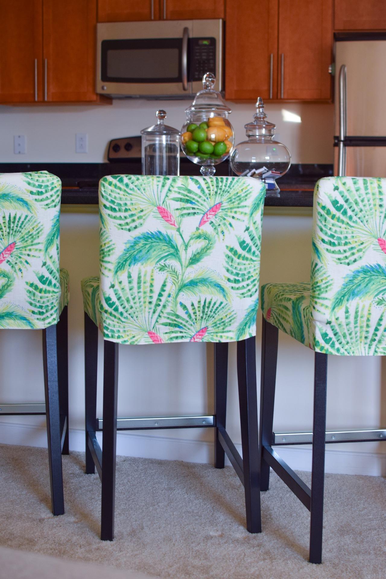 Swell Ikea Henriksdal Bar Stool Slipcover Rockin Cushions A Machost Co Dining Chair Design Ideas Machostcouk