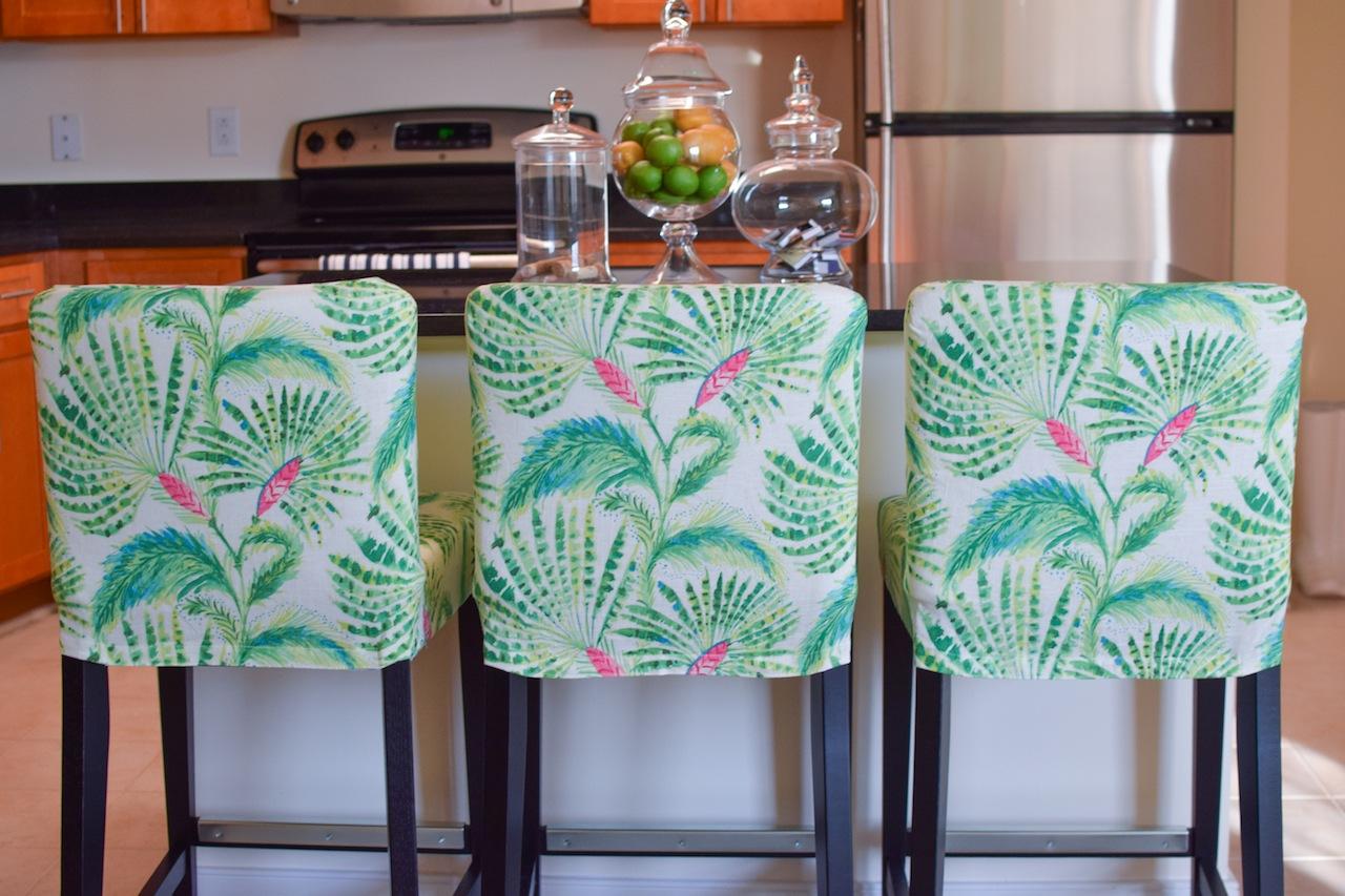 ikea henriksdal bar stool slipcover rockin cushions