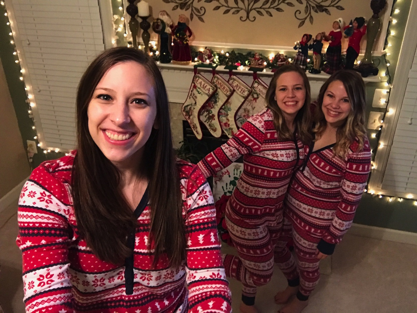 Matching Christmas Pajamas 2017   A Touch of Teal