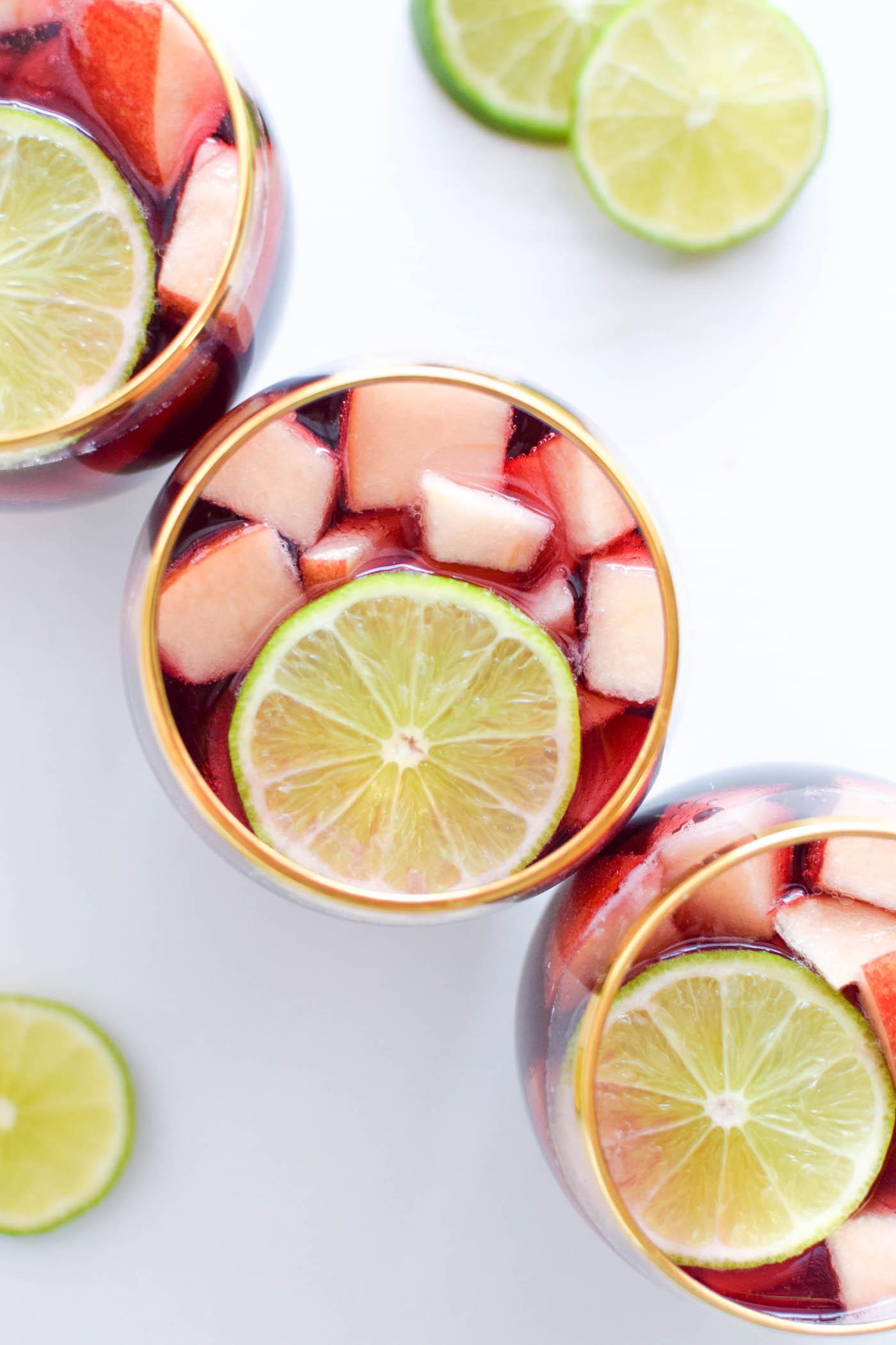 izze pomegranate sangria recipe