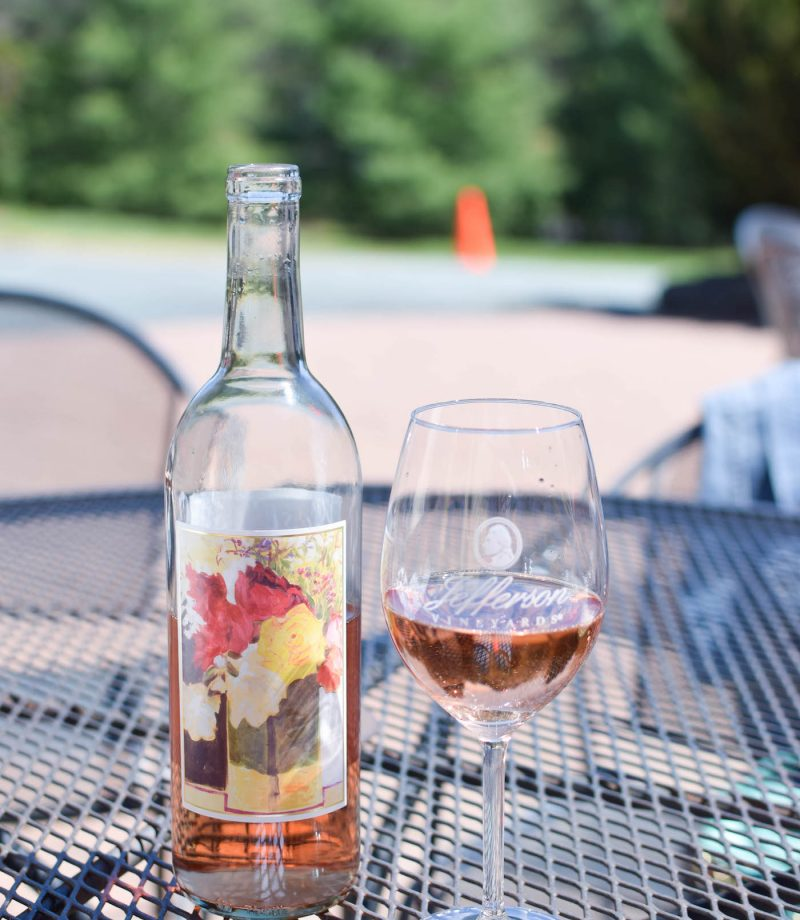 jefferson vineyards charlottesville review