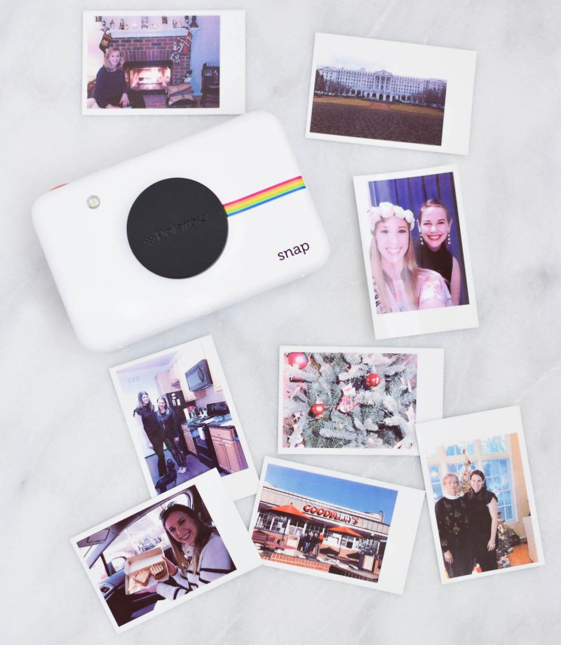polaroid snap instant camera review