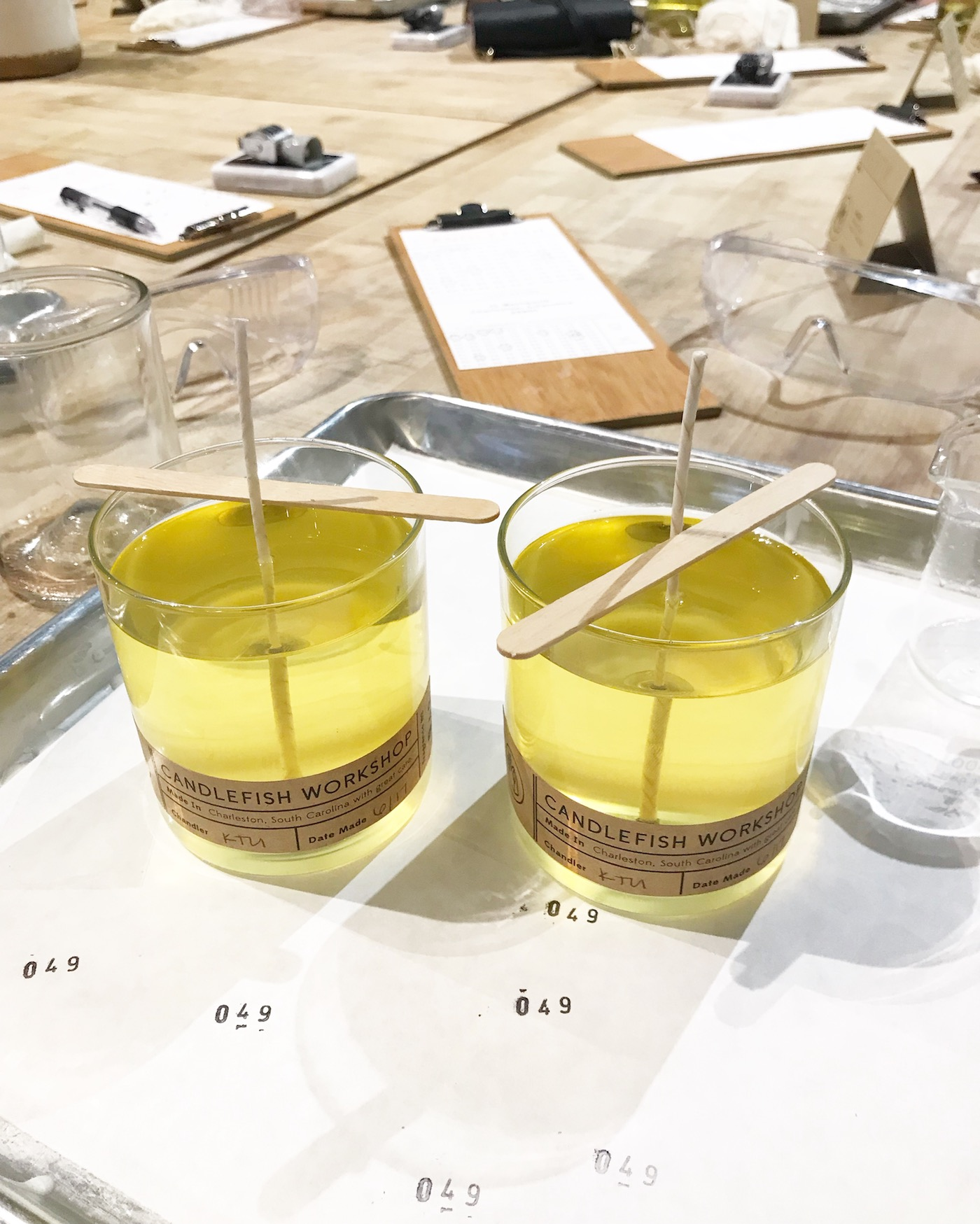 candlefish candle making class review