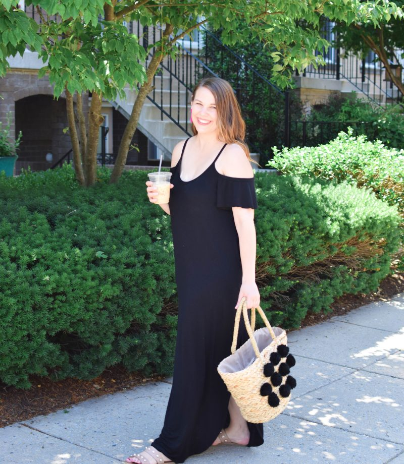 mint julep boutique black maxi dress
