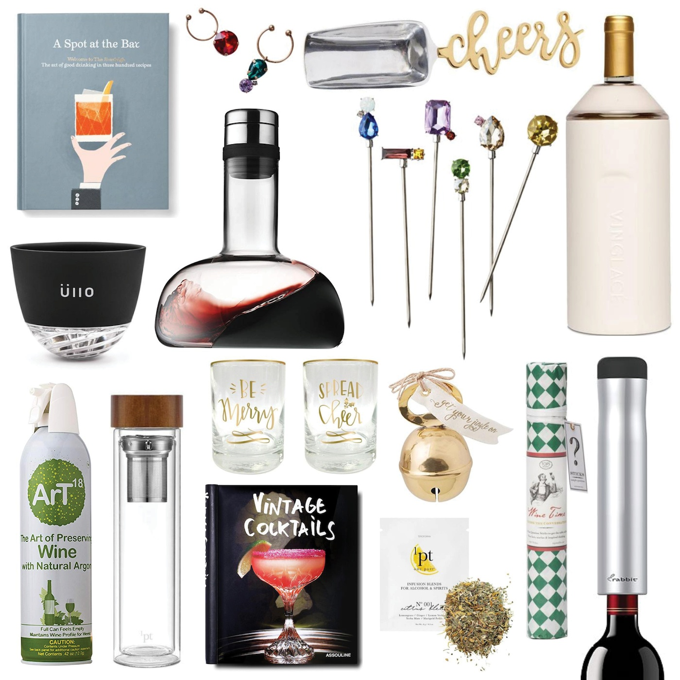 christmas gift ideas for the bar 2018