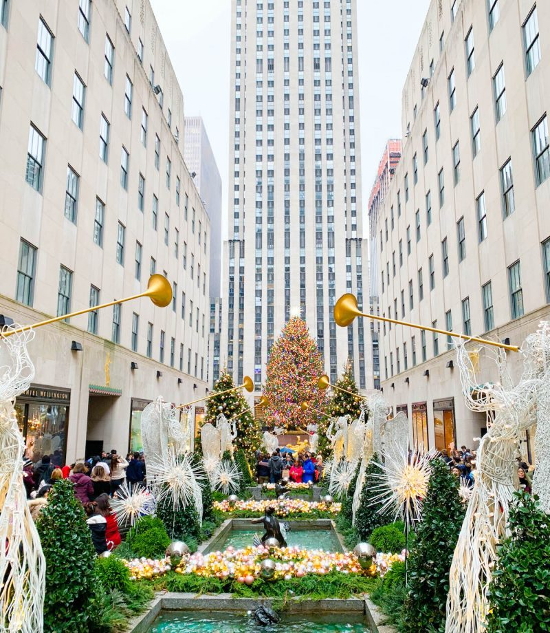 new york city at christmastime