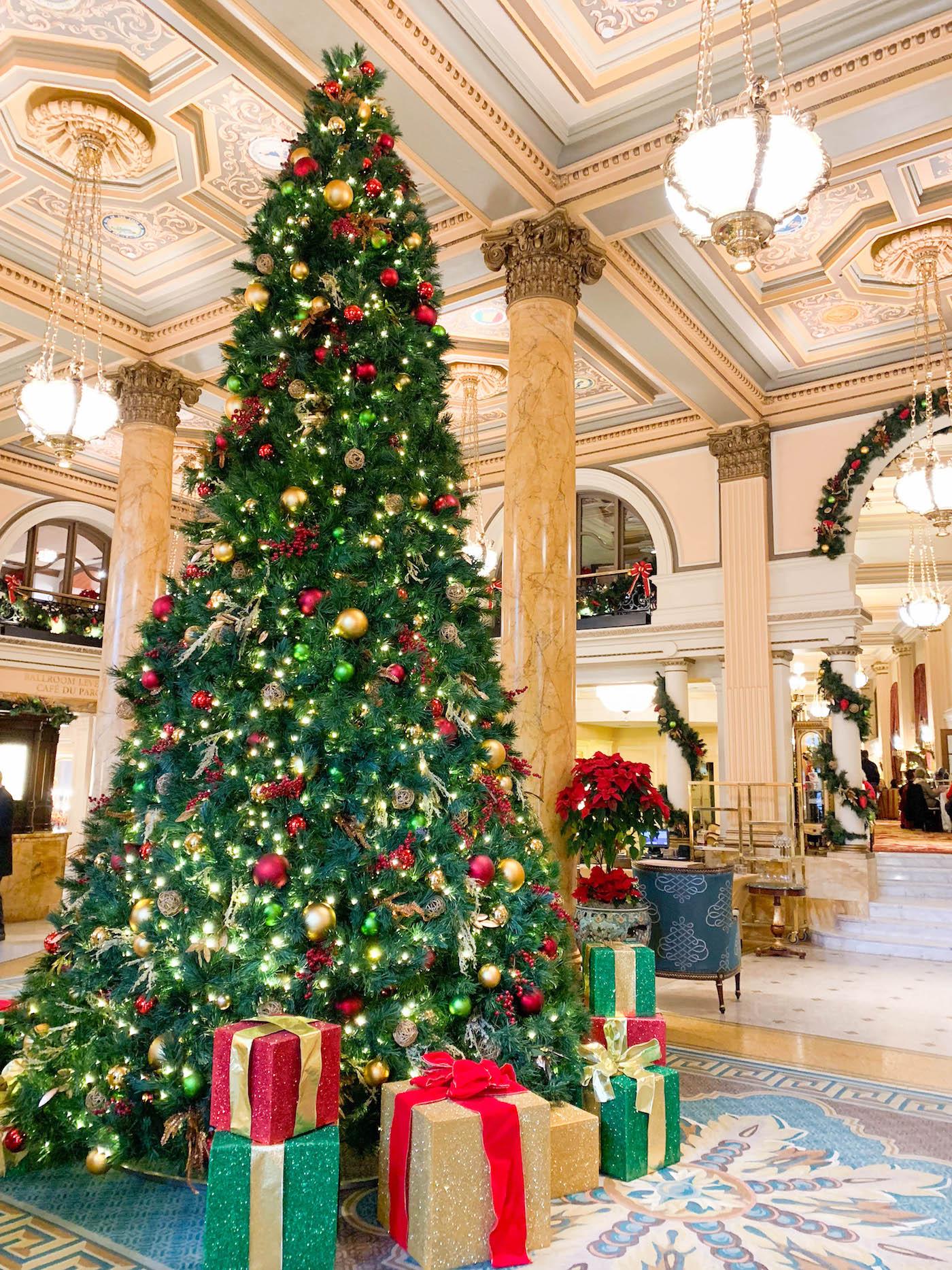 willard hotel christmas decorations