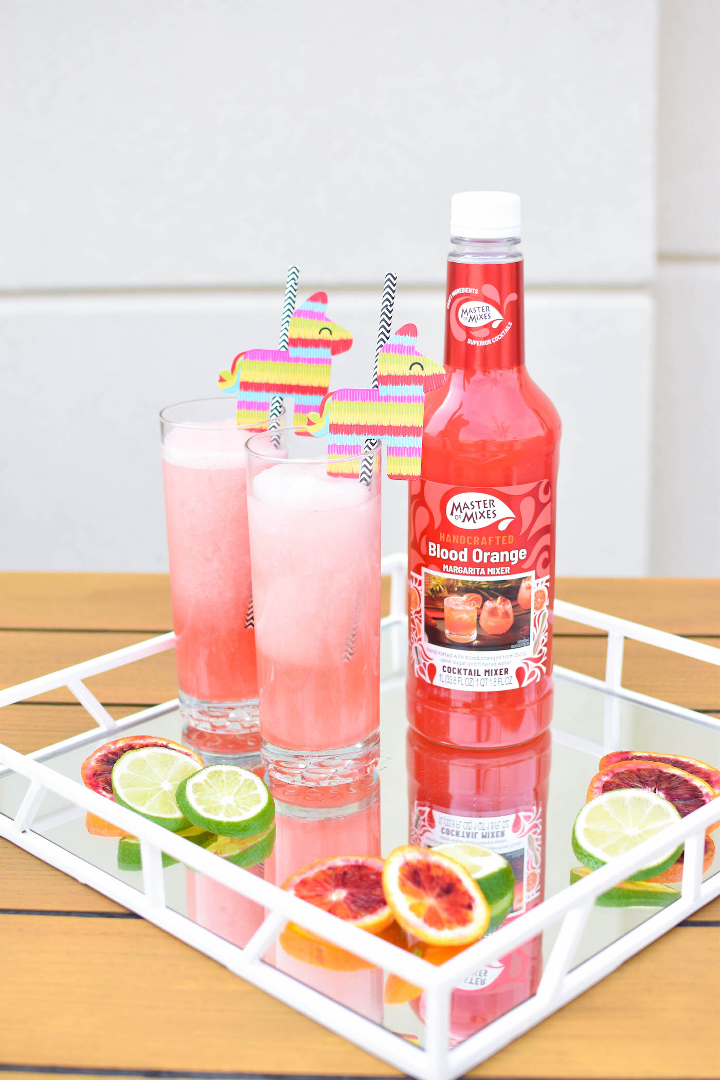 master of mixes blood orange margaritas