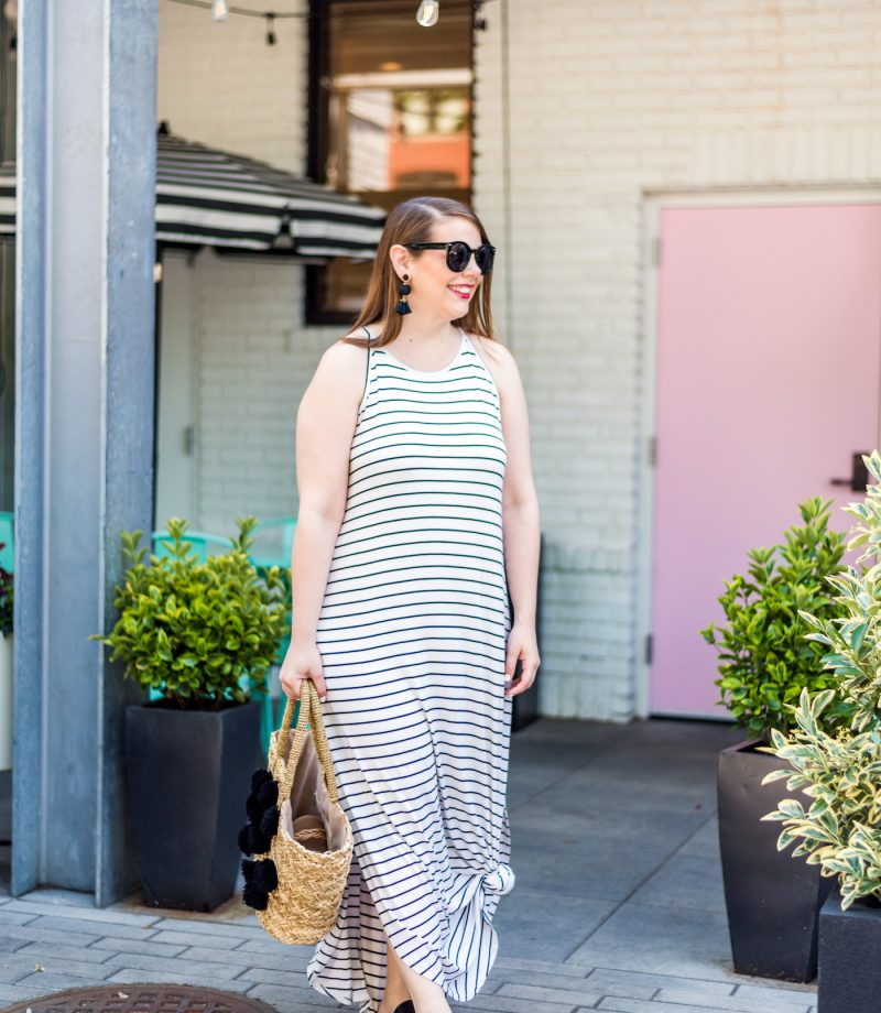 maxi dress for short women
