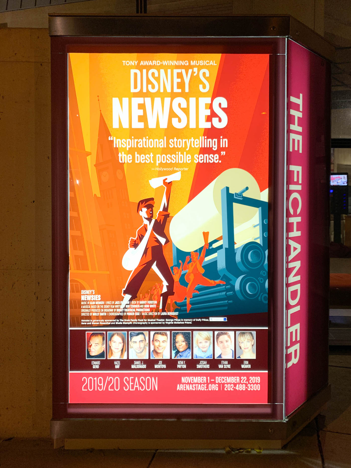 newsies at arena stage review