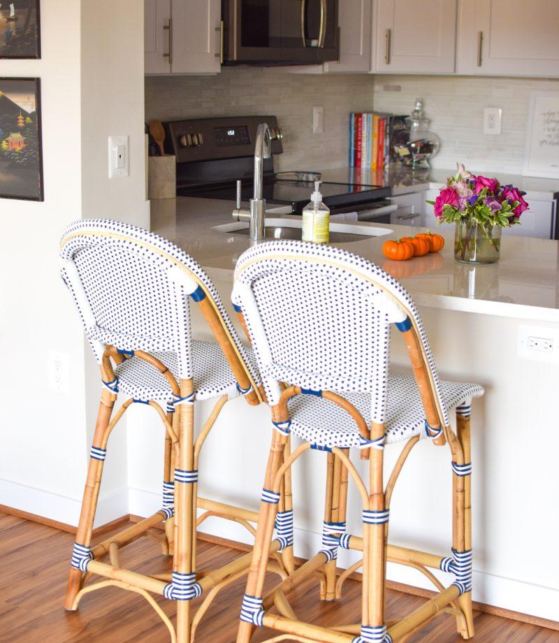 serena and lily Rivera counter stools