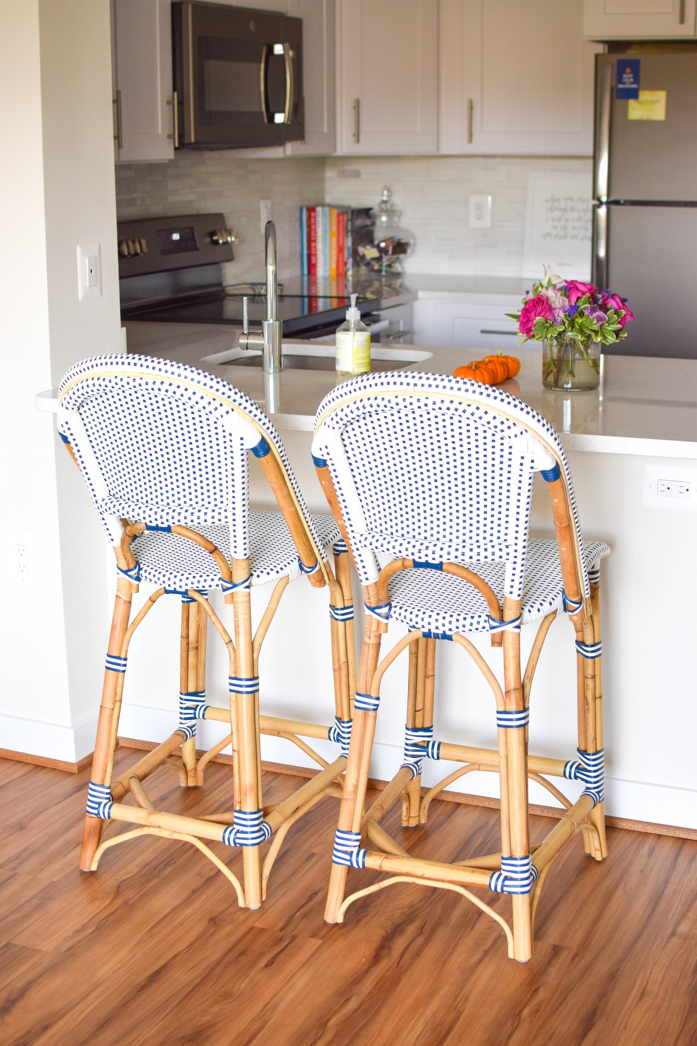 serena and lily Rivera counter stools