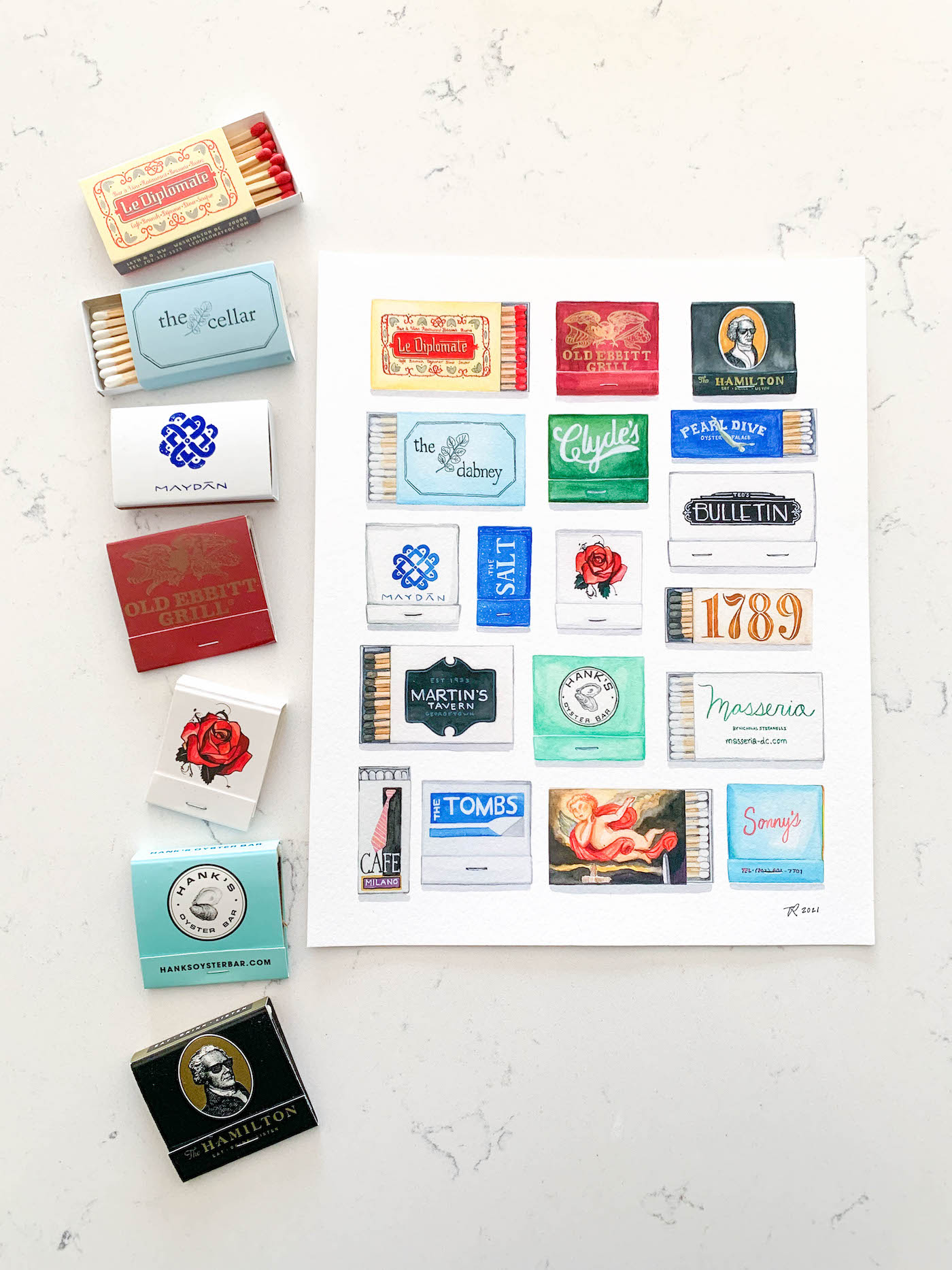 my father's daughter designs dc matchbook print review